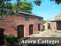 A warm and friendly welcome will greet you from the Bullock family at Acorn Cottages, North Rode