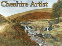 Cheshire Artist - Three Shires Head, Algreave