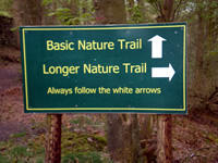 Nature trails at Blaze Farm