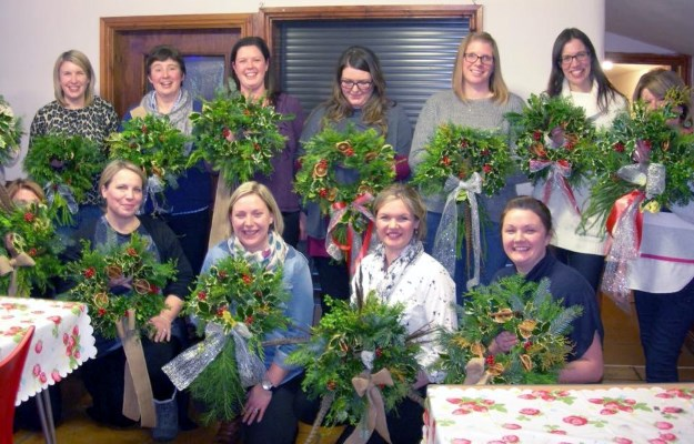 Festive Wreath Making Workshops at Blaze Farm