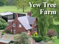 Yew Tree Farm, North Rode Congleton, is a working farm in North Rode which offers bed and breakfast on the eastern edge of Cheshire, close to the Peak District National Park